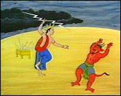 La leccion de Indra